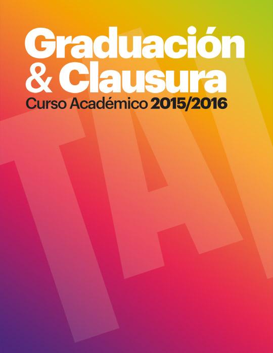 Graduación y clausura curso 2015/2016